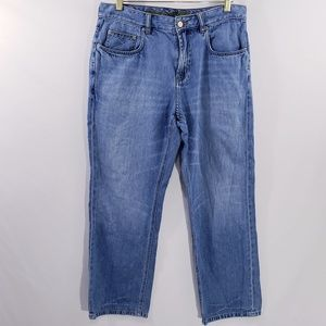 Tommy Bahama Mens Jeans classic Fit 35x30 blue str